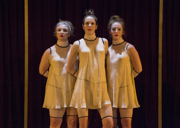 Marie Lefebvre, Laurence-Castonguay Emery, Sylvie Chartrand. Crédits photographiques: Catherine Asselin-Boulanger