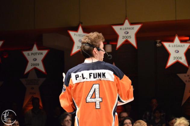 Pier-Luc Funk à la LNI. Crédit photographique: Pierre Favrault