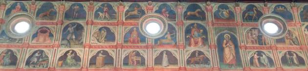 Figure 0. Salone au Palais de la Raison (Padoue), vue du mur Nord, v. 1420 © Photo : Daniel Garneau