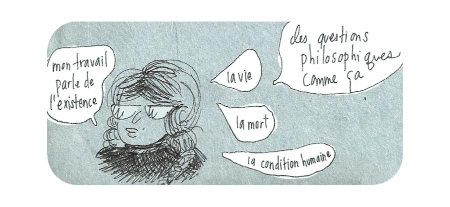 Autre oeuvre créée par Cathon  « Mais encore ? », 2011 Source: site web Cathonchaton