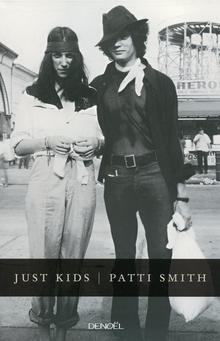Page couverture de Just kids de Patti Smith Source: site web du FIL